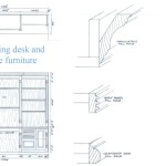 Built in Furniture Drawing Details